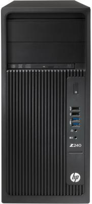 Системный блок HP Z240 i5-7600 3.5GHz 8Gb 1Tb HD630 DVD-RW Win10Pro клавиатура мышь черный Y3Y76EA компьютер hp prodesk 400 g4 intel core i5 7500 ddr4 8гб 1000гб intel hd graphics 630 dvd rw windows 10 professional черный [1jj50ea]