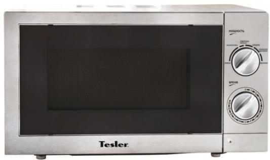 СВЧ TESLER MM-2055 700 Вт серый свч tesler mm 1711 700 вт белый