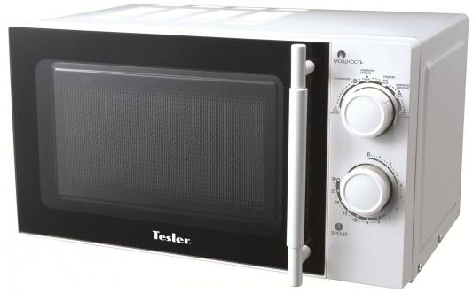 СВЧ TESLER MM-2035 700 Вт белый мультиварка tesler 500 челябинск