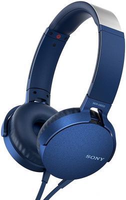 Наушники SONY MDRXB550APL.E синий цена и фото