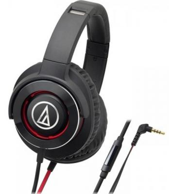 Гарнитура Audio-Technica ATH-WS770iS BRD черный гарнитура audio technica ath sport3 rd red