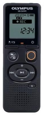 Цифровой диктофон Olympus VN-541PC 4Гб черный