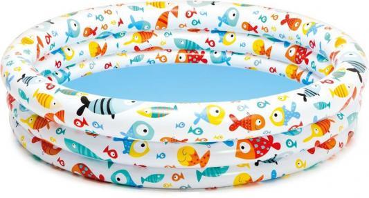 Надувной бассейн Intex Подводный мир с59431 надувной бассейн intex бассейн надувной голубой
