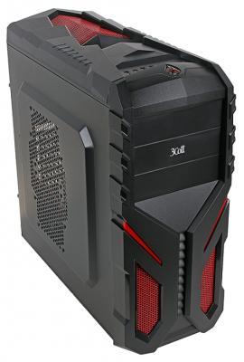"Корпус ATX 3Cott 3C-ATX136G ""Shogun"" Без БП чёрный"