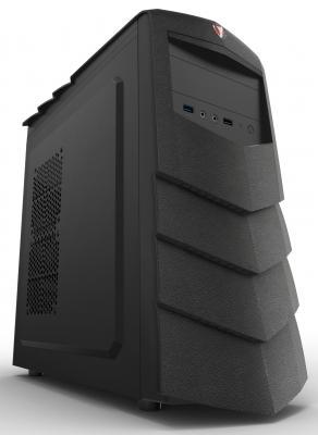 Корпус ATX 3Cott 3C-ATX195G(B) Без БП чёрный