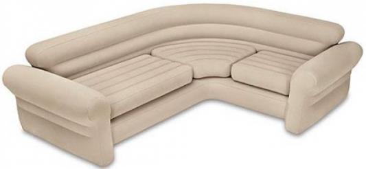 Надувной угловой диван INTEX 256.5х203.2х76.2 см
