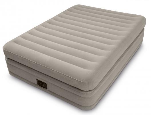 Купить Надувной матрас-кровать INTEX 64446, серый, ПВХ, Детские матрасы для плавания