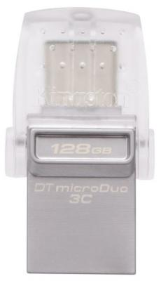 Флешка USB 128Gb Kingston DTDUO3C/128GB серый от 123.ru