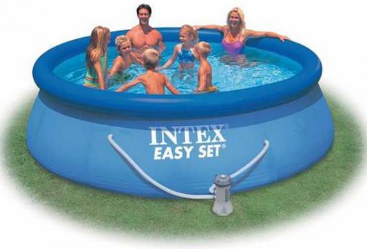 Надувной бассейн INTEX Easy Set бассейн надувной intex easy 56414