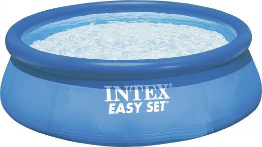 Надувной бассейн INTEX Easy Set 396х84см + фильтр-насос надувной бассейн intex easy set 3 05х0 76м 56922 28122 28122np