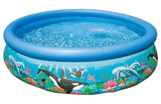 Надувной бассейн INTEX Easy Set риф океана с54904 бассейн easy set 305х76см океанский риф 3853л фильтр насос intex