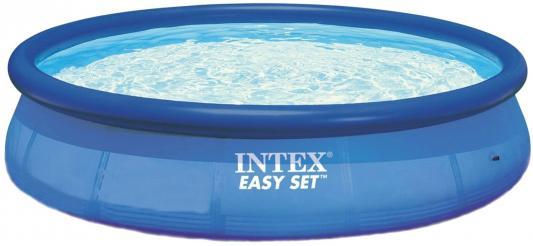 Надувной бассейн INTEX Easy Set 457х84 см + фильтр-насос картриджный фильтр насос intex 56636 28636 krystal clear с таймером