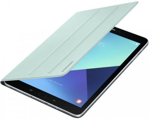 "Чехол Samsung для Samsung Galaxy Tab S3 9.7"" Book Cover полиуретан/поликарбонат мятный EF-BT820PGEGRU от 123.ru"