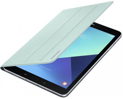 "Чехол Samsung для Samsung Galaxy Tab S3 9.7"" Book Cover полиуретан/поликарбонат мятный EF-BT820PGEGRU от 123.ru"