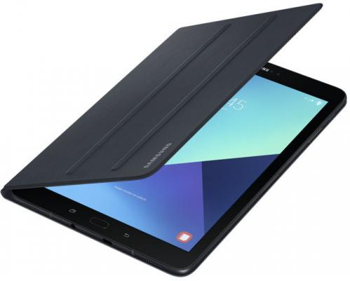 "Чехол Samsung для Samsung Galaxy Tab S3 9.7"" Book Cover полиуретан/поликарбонат черный EF-BT820PBEGRU от 123.ru"