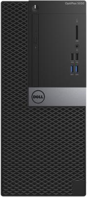Системный блок DELL Optiplex 5050 MT i7-7700 3.6GHz 8Gb 1Tb HD630 DVD-RW Win10Pro клавиатура мышь серебристо-черный 5050-8299