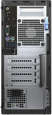 Системный блок DELL Optiplex 5050 MT i7-7700 3.6GHz 8Gb 1Tb HD630 DVD-RW Linux клавиатура мышь серебристо-черный 5050-8282