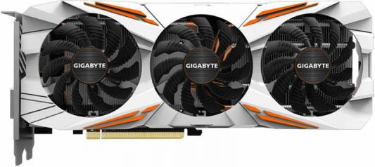 Видеокарта 11264Mb Gigabyte GeForce GTX1080Ti PCI-E HDMI DP DVI HDCP GV-N108TGAMING OC-11GD Retail видеокарта 8192mb msi geforce gtx 1080 gaming x 8g pci e 256bit gddr5x dvi hdmi dp retail