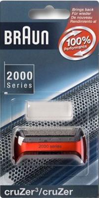 Сетка Braun 20S CruZer для бритвы Braun 2000 серии красный сетка для бритвы braun 20s