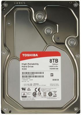 "Жесткий диск 3.5"" 8Tb 7200rpm Toshiba SATAIII HDWN180EZSTA"