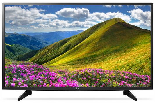 Телевизор LG 49LJ510V черный пылесос lg vc53202nhtr