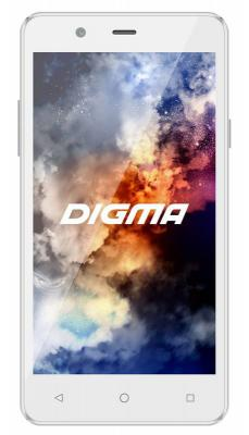 "Смартфон Digma Linx A501 4G белый 5"" 8 Гб LTE Wi-Fi GPS 3G"