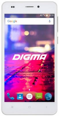 Смартфон Digma CITI Z560 4G белый 5 16 Гб LTE Wi-Fi GPS 3G смартфон meizu m5 note серебристый 5 5 32 гб lte wi fi gps 3g