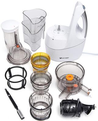 Соковыжималка KITFORT КТ-1104-1 240 Вт пластик белый от 123.ru