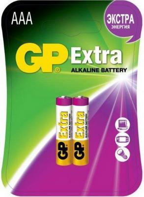 Батарейки GP Extra Alkaline 24AX LR03 AAA 2 шт