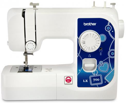 Швейная машина Brother LX700 белый от 123.ru