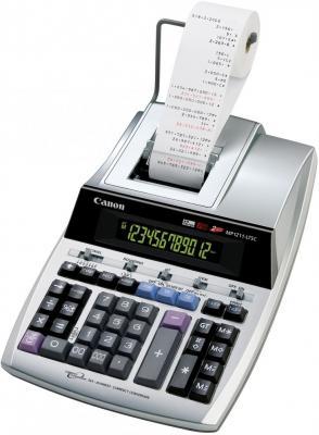 Калькулятор печатающий Canon MP1211-LTSC 12-разрядный серебристый