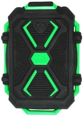 Портативное зарядное устройство Ritmix RPB-10407LST 10400мАч черно-зеленый портативное зарядное устройство ritmix rpb 10001l 10000мач белый