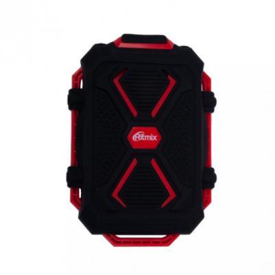 Портативное зарядное устройство Ritmix RPB-10407LST 10400мАч черно-красный