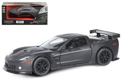 "Автомобиль Autotime Chevrolet Corvette C6-R"" Imperial Black Edition 5 1:64 черный"