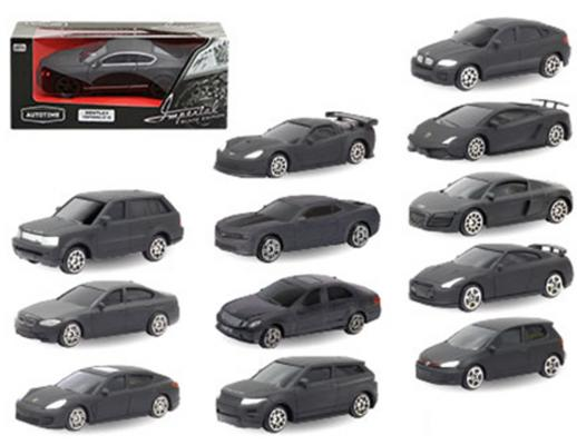 Автомобиль Autotime Imperial - Black Edition 1:64 черный ассортимент, 49445 машина autotime imperial truck series 65137
