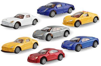 Автобус Autotime Carbon Sport Coupe 1:56 цвет в ассортименте в ассортименте autotime модель автомобиля краз 6322 мчс