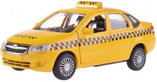 Автомобиль Autotime Lada Granta Такси 1:36 желтый  33956