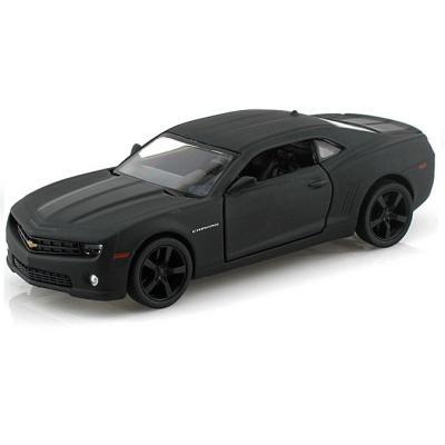 Автомобиль Autotime Chevrolet Camaro Imperial Black Edition 5 1:64 черный  49916 машинки autotime машина lada 2104 такси
