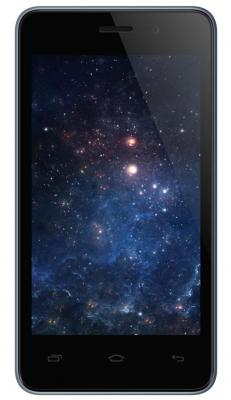 Смартфон Micromax Q326 серый 4 4 Гб Wi-Fi GPS 3G смартфон micromax a107 cosmic grey 4 5 8 гб wi fi gps 3g 4 5 2sim 8гб gps wi fi 3g android 5 0 2000 ма ч
