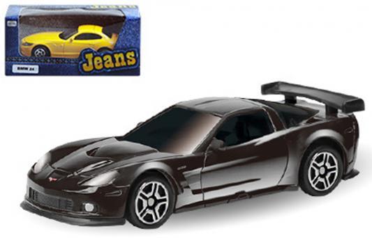 Автомобиль Autotime Chevrolet Corvette C6-R - Jeans 3 1:64 цвет в ассортименте ассортимент. 49942 autotime машинка color twisters цвет белый