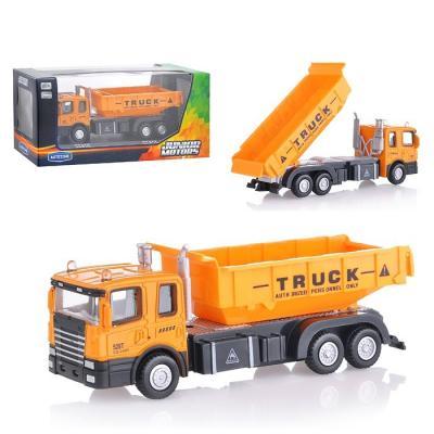 Самосвал Autotime Construction Truck 1:48 желтый  34134 autotime машинка color twisters цвет белый