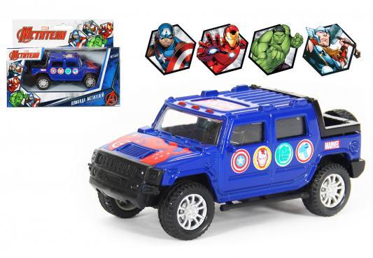 Внедорожник Autotime Avengers Marvel 1:36 синий  49394 autotime модель автомобиля краз 6322 мчс