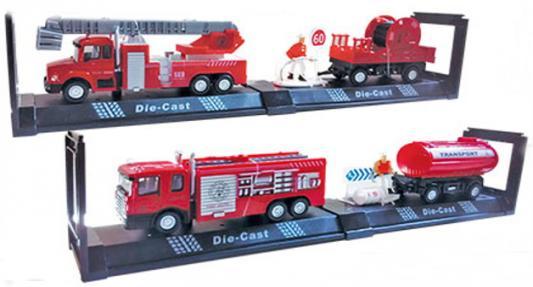 Пожарная машина Autotime Fire Truck Set пожарная разноцветный в ассортименте 34139 машинки autotime машина lada 2104 такси