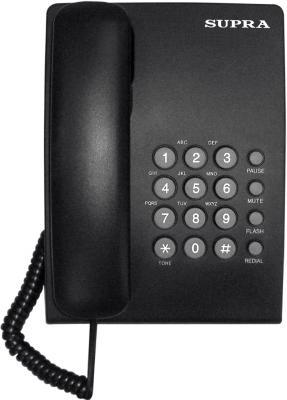 Телефон Supra STL-330 черный