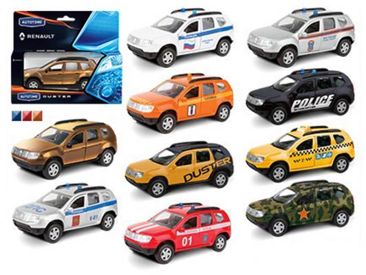 Автомобиль Autotime Rnault Duster 1:38 цвет в ассортименте в ассортименте 49499