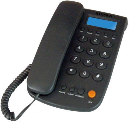 Телефон Supra STL-420 черный