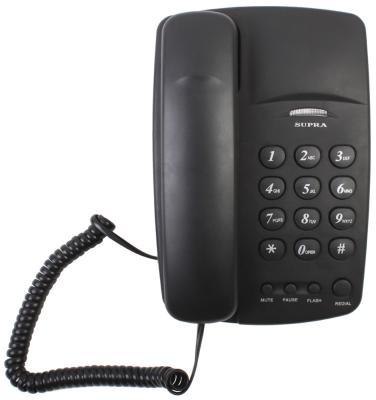 Телефон Supra STL-310 черный