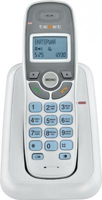 Радиотелефон DECT Texet TX-D6905А Dect белый радиотелефон