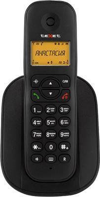Фото Радиотелефон DECT Texet TX-D4505A Dect черный радиотелефон