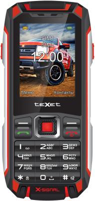 Мобильный телефон Texet TM-515R черный красный 2.4 texet tm 513r